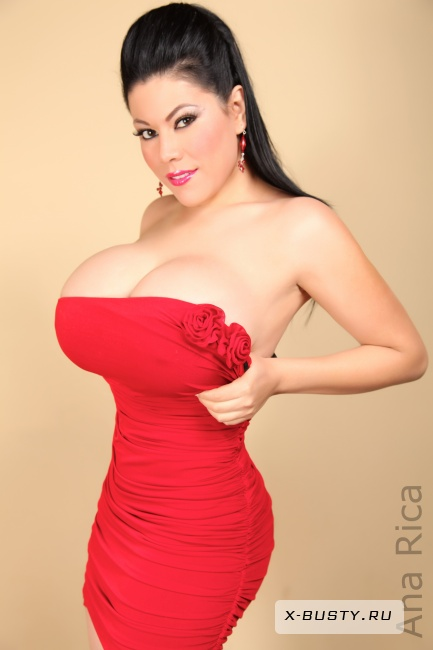 Ana Rica - Lady in Red
