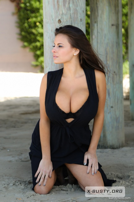 Wendy Fiore - Black Dress Pier