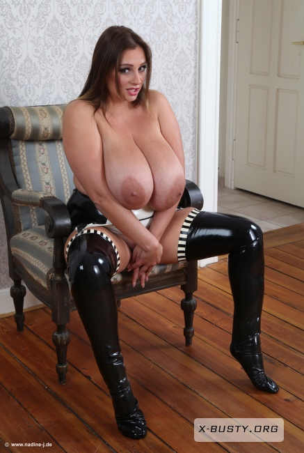 Nadine Jansen - Latex Girdle - Part 2