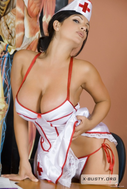 Denise Milani - Nurse